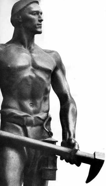 arte nazi de bronce