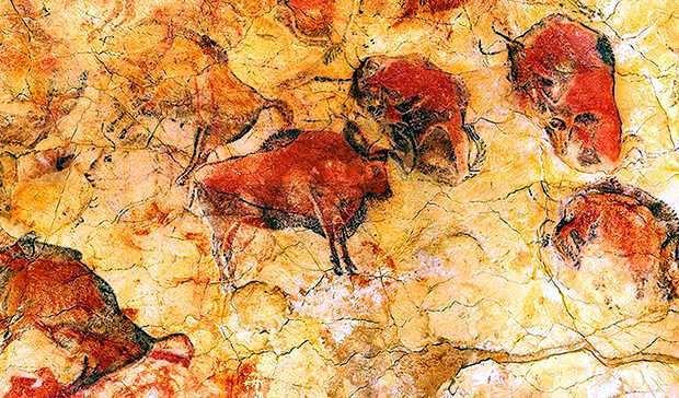 arte rupestre en altamira (España)