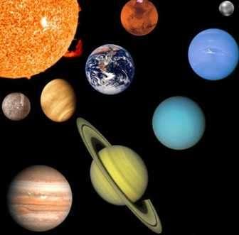 astronomia, planetas del sistema solar