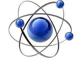 esquema de un átomo
