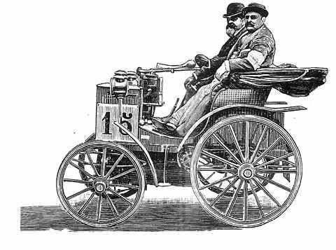 auto antiguo de 1894
