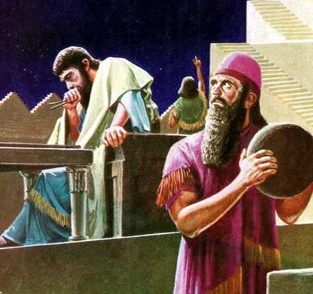 Atrónomos de Babilonia