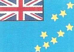 Bandera de Tuvalu Oceania