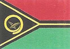 bandera de vanuatu oceania