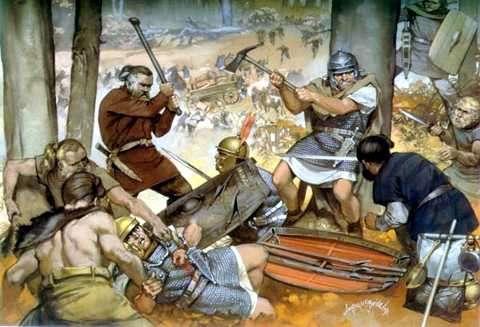 Las Invasiones Barbaras y la Caida del Imperio Romano de Occidente –  BIOGRAFÍAS e HISTORIA UNIVERSAL,ARGENTINA y de la CIENCIA