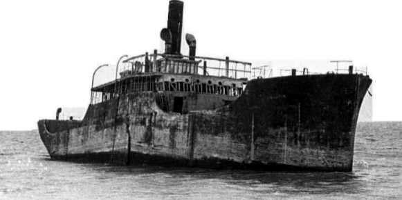 Barcos de Cemento Construido en la Segunda Guerra Mundial