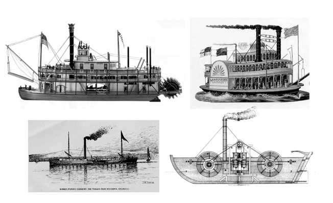 barcos en la revolucion industrial