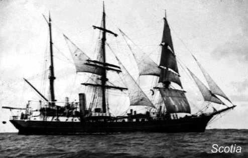 barco scotia rumbo a las islas orcadas