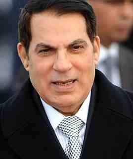 presidente de Túnez Ben Alí