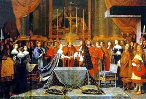 Boda de Luix XIV y María Teresa