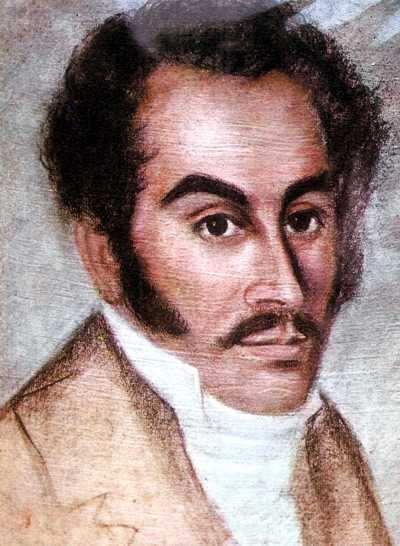 simon bolivar retrato