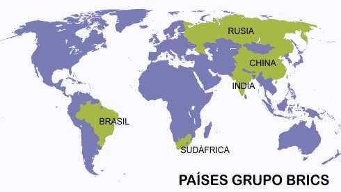 paises del brics