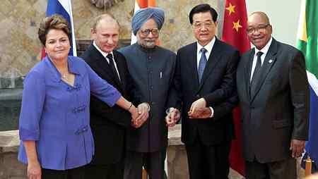 Presidentes de los Países del BRICS