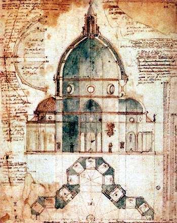 Obras del Arquitecto  Brunelleschi