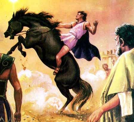 caballo de Alejandro Magno