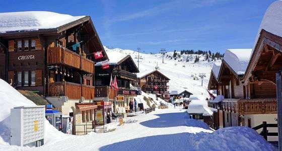 cabañas en suiza