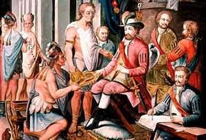 Hernan Cortes y el cacao