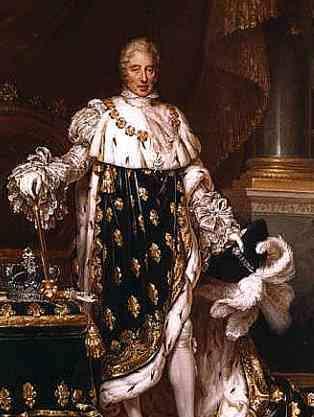Carlos X, sucesor de Luis XVIII