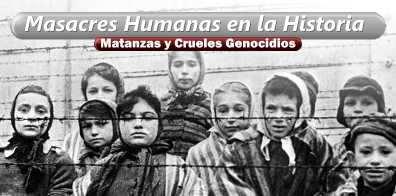 masacres humanas