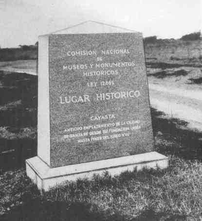 monumento historico cayasta