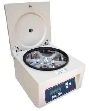 fuerza centrifuga: ejemplo de una maquina centrifugadora