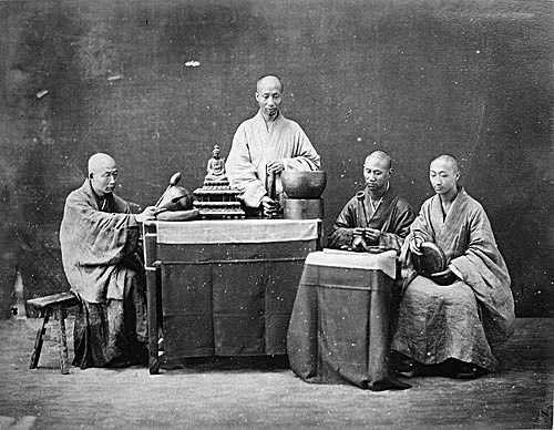Sacerdotes en China en el SigloXIX