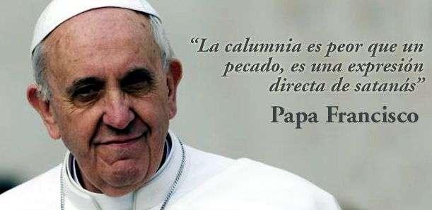 reflexiones del papa francisco
