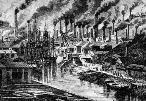 ciudad de la revolucion industrial