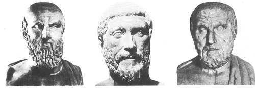 griegos de la etapa clásica de grecia