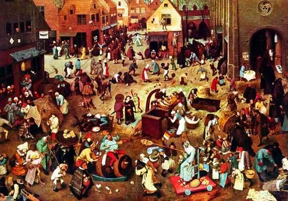 la ciudad comercial medieval
