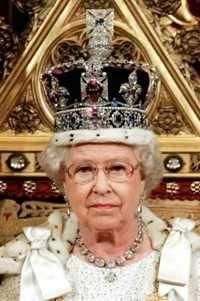 corona reina Isabel II