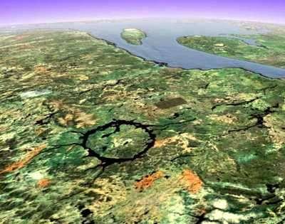 crater terrestre