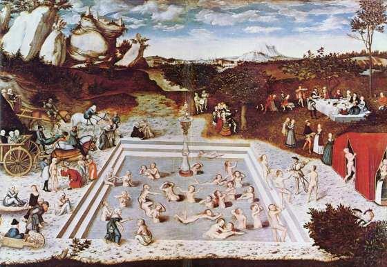 damas desnudas de cranach