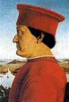 Federico de Montefeltre, Obra de Piero de la Francesca