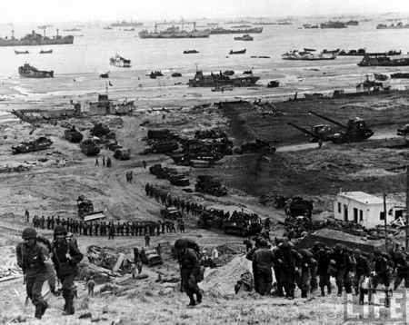 Dia D ataque de los aliados a Alemania