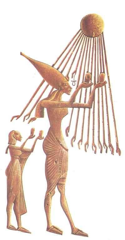 aton, unico dios de egipto