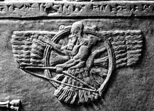 Disco solar de los asirios