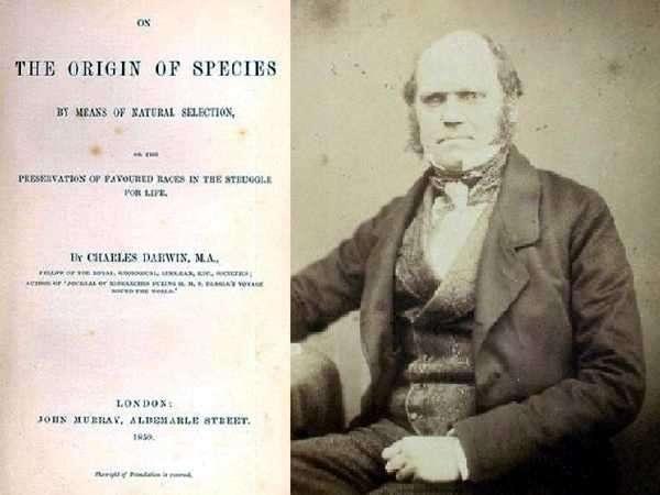 Libro original de Darwin