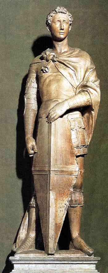 San Jorge de Donatello, 1417
