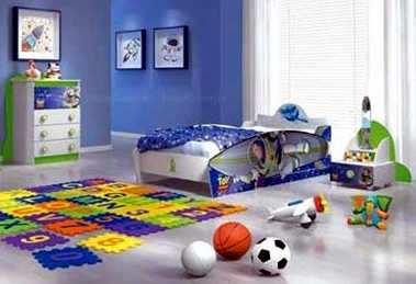 confort de niños en sus hogares
