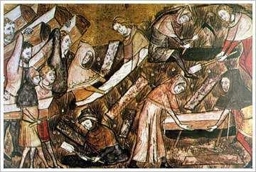 Viviendas y Comidas en la Edad Media