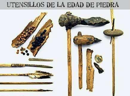 herramientas en la edad de piedra