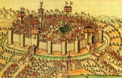 edad media, ciudad castillo