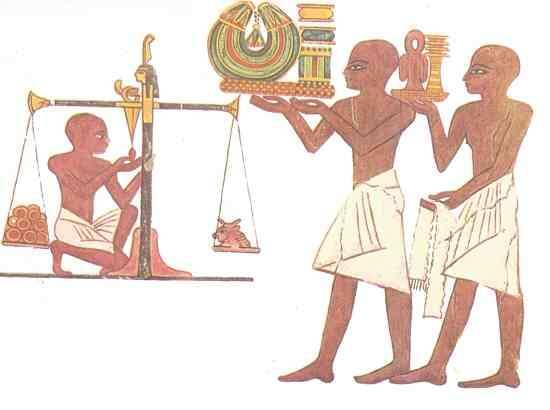 orfebres egipto antiguo