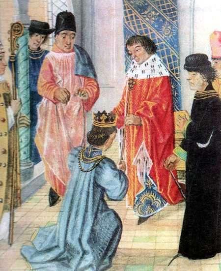Coronacion de Enrique Lancaster