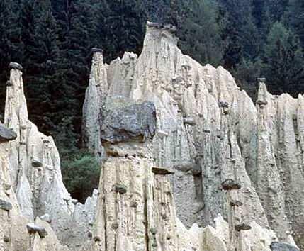 erosion de montañas
