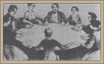 mesa de esperitismo