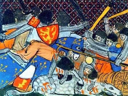 Imagen de la Batalla Espuelas de Oro