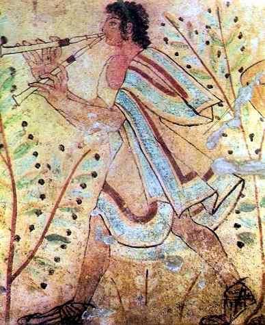 flauta etrusca