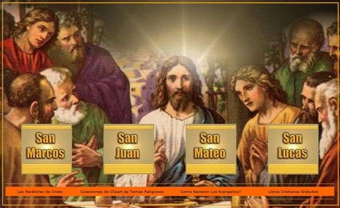 Descarga de los Evangelios San Lucas, Marcos, Juan y Mateo